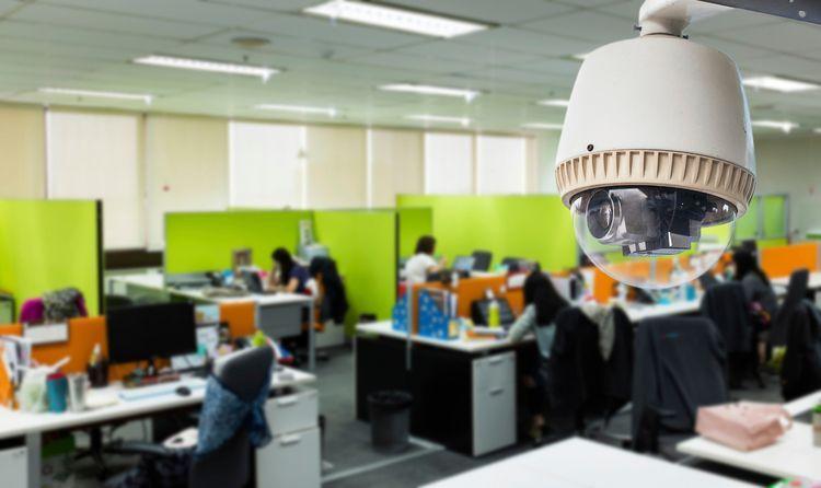 دوربین مدار بسته در ادارات و محیط کاری